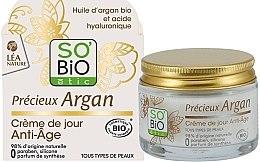 Düfte, Parfümerie und Kosmetik Anti-Aging Gesichtscreme mit Arganöl - So'Bio Etic Precieux Argan Anti-Age Day Cream