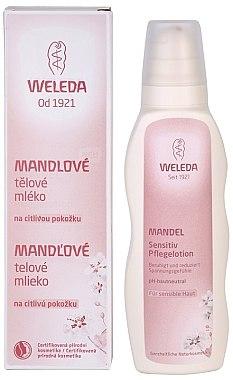 Beruhigende Körperlotion mit Mandelöl für empfindliche Haut - Weleda Mandel Sensitiv Pflegelotion — Bild N4