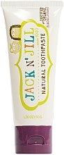 Düfte, Parfümerie und Kosmetik Natürliche Kinderzahnpasta mit schwarzem Johannisbeergeschmack - Jack N' Jill Natural Toothpaste Blackcurrant