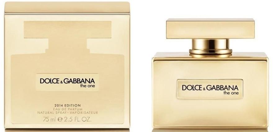 Dolce & Gabbana The One Gold Limited Edition - Eau de Parfum — Bild N1