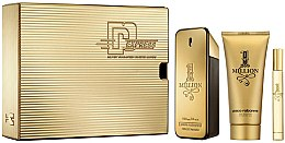 Düfte, Parfümerie und Kosmetik Paco Rabanne 1 Million - Duftset (Eau de Toilette 100ml + Eau de Toilette 10ml + Duschgel 100ml)