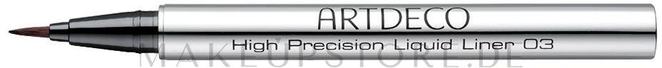 Eyeliner - Artdeco High Precision Liquid Liner — Bild 03 - Brown