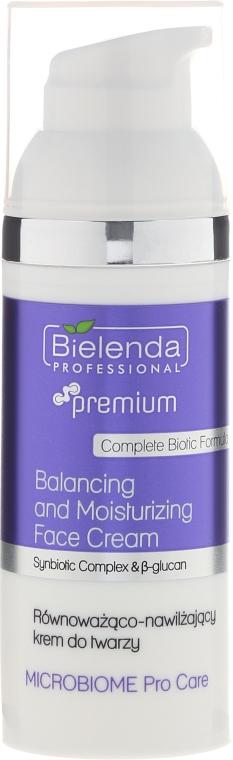 Ausgleichende und feuchtigkeitsspendende Gesichtscreme - Bielenda Professional Microbiome Pro Care Balancing And Moisturizing Face Cream — Bild N1
