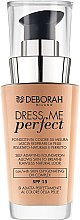 Düfte, Parfümerie und Kosmetik Foundation - Deborah Dress Me Perfect Foundation SPF15
