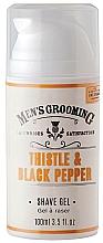 Düfte, Parfümerie und Kosmetik Rasiergel mit Distel & schwarzem Pfeffer - Scottish Fine Soaps Men's Grooming Thistle & Black Pepper Shaving Gel