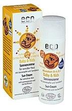 Düfte, Parfümerie und Kosmetik Wasserfeste Baby Sonnencreme LSF 45 - Eco Cosmetics Baby Sun Cream SPF 45