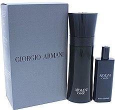 Düfte, Parfümerie und Kosmetik Giorgio Armani Armani Code - Duftset (Eau de Toilette/75ml + Eau de Toilette/15ml)