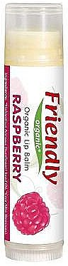 "Bio-Lippenbalsam ""Himbeere"" - Friendly Organic Lip Balm Raspberry — Bild N1"