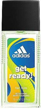 Adidas Get Ready for Him - Eau de Cologne — Bild N1