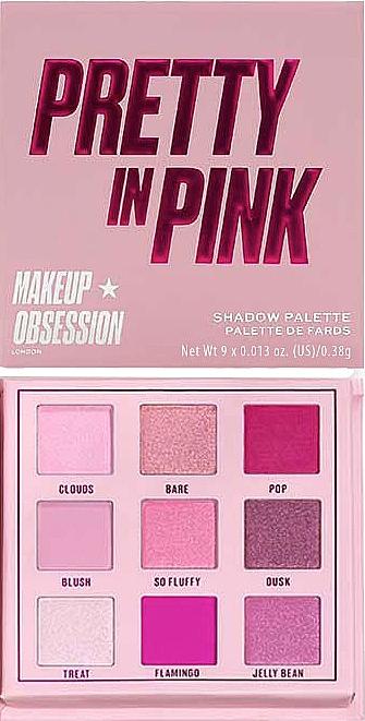 Lidschatten-Palette - Makeup Obsession Pretty In Pink Shadow Palette — Bild N1