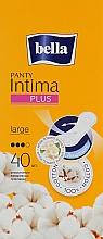 Düfte, Parfümerie und Kosmetik Slipeinlagen Panty Intima Plus Large 40 St. - Bella