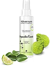 Düfte, Parfümerie und Kosmetik Parfümiertes Körperspray mit Bergamotte und Limette - Allvernum Nature's Essences Body Mist