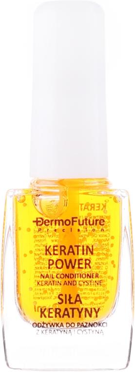 Nagelbalsam mit Keratin und Cystin - Dermofuture Keratin Power Nail Conditioner Keratin&Cystine — Bild N2