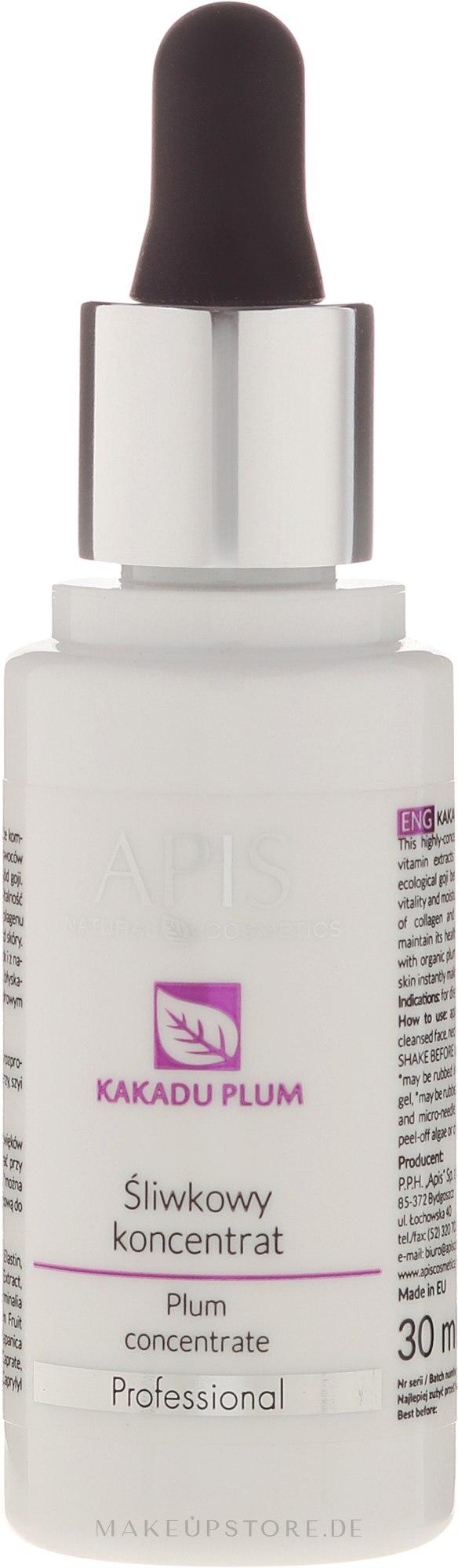 Gesichtskonzentrat mit Pflaumenextrakt - APIS Professional Kakadu Plum Concentrate — Bild 30 ml