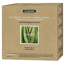 Düfte, Parfümerie und Kosmetik Haarpflegeset - Klorane Oat Milk (Shampoo 200ml + Haarspülung 200ml)