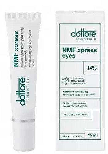 Feuchtigkeitsspendende Creme für die Augenpartie - Dottore NMF Xpress Cream Eyes — Bild N1