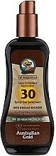 Düfte, Parfümerie und Kosmetik Sonnenschutzspray-Gel mit Bronzer SPF 30 - Australian Gold Protetor Solar Gel Spray Bronzeador SPF30