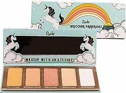 Düfte, Parfümerie und Kosmetik Highlighter-Palette - Rude Unicorn Fantasies