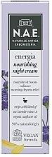 Düfte, Parfümerie und Kosmetik Pflegende Nachtcreme für das Gesicht - N.A.E. Energia Nourishing Night Cream