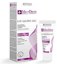 Düfte, Parfümerie und Kosmetik Revitalisierendes und glättendes Anti-Falten Gel für die Augenpartie - Revuele Mezoderm Eye Matrix Gel Eye Contour