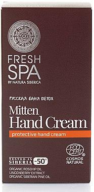 Handcreme - Natura Siberica Fresh Spa Russkaja Bania Detox Mitten Hand Cream — Bild N1