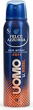 Düfte, Parfümerie und Kosmetik Deospray Antitranspirant - Felce Azzurra Deo Rebel