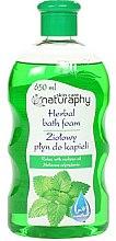 Düfte, Parfümerie und Kosmetik Kräuter-Badeschaum mit Zitronenmelissenöl - Bluxcosmetics Naturaphy Herbal Bath Foam