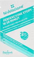 3-stufige Fußpflege mit Paraffin - Farmona Nivelazione Paraffin Foot Treatment (Fußbadflüssigkeit 20ml, Fußpeeling 8g, Fußmaske mit Paraffin 8ml, Socken) — Bild N4