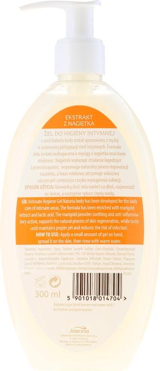 Gel für die Intimhygiene mit Ringelblumenextrakt - Joanna Naturia Intimate Hygiene Gel — Bild N2