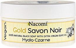 Düfte, Parfümerie und Kosmetik 100% natürliche schwarze Seife mit Olovenöl - Nacomi Savon Noir Natural Black Soap with Extra Virgin Olive Oil