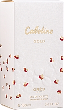 Düfte, Parfümerie und Kosmetik Parfums Gres Cabotine Gold - Eau de Toilette