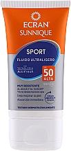 Düfte, Parfümerie und Kosmetik Ultra leichtes Sonnenschutzfluid für das Gesicht Sport SPF 50 - Ecran Sun Sport Ultralight Fluid Spf50