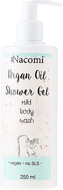 """Mildes Duschgel mit Arganöl """"Argan"""" - Nacomi Natural Shower Gel — Bild N1"""