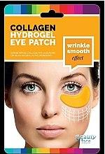 Düfte, Parfümerie und Kosmetik Anti-Falten Kollagenmaske für die Haut unter den Augen mit Gold und Hyaluronsäure - Beauty Face Collagen Hydrogel Eye Mask