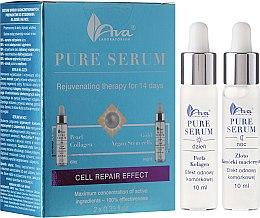Düfte, Parfümerie und Kosmetik 14-tägige Anti-Aging Tages- und Nachtpflege - Ava Laboratorium Pure Serum