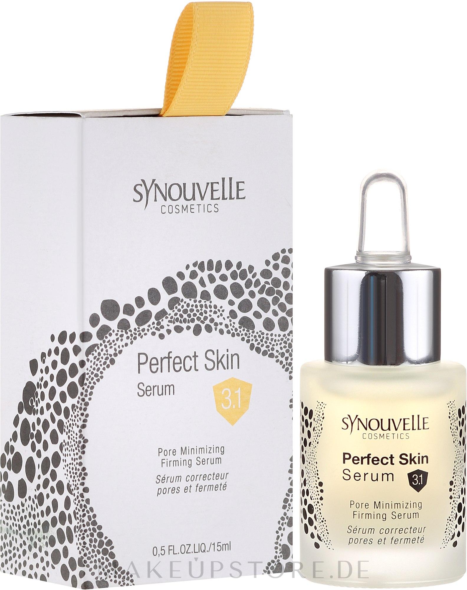 Gesichtsserum - Synouvelle Cosmectics Perfect Skin Serum Pore Minimising 3.1 — Bild 15 ml