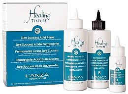 Düfte, Parfümerie und Kosmetik Dauerwell-Set - L'anza Healing Texture Sure Success Acid Perm (Neutralizer 118ml + Dauerwelllotion 82ml + Aktivierer 21ml)