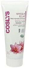 Düfte, Parfümerie und Kosmetik Gesichtsmaske für strahlende Haut mit Lilienextrakt - Coslys Facial Care Radiant Mask With Lily Extract