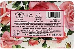 Naturseife mit Rosenblütenduft - Saponificio Artigianale Fiorentino Masaccio Rose Soap — Bild N2