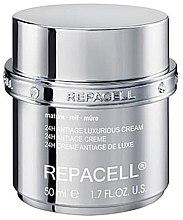 Düfte, Parfümerie und Kosmetik Luxuriöse Anti-Aging Gesichtscreme für reife Haut - Klapp Repacell 24H Antiage Luxurious Cream Mature
