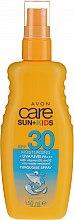 Düfte, Parfümerie und Kosmetik Wasserfeste Sonnenschutzspray-Lotion für Kinder SPF 30 - Avon Care Sun+ Spray