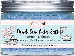 Düfte, Parfümerie und Kosmetik Badesalze aus dem Toten Meer mit griechischen Düften - Nacomi Natural Greek Dead Sea Salt Bath