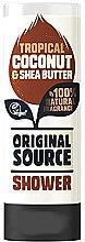 Düfte, Parfümerie und Kosmetik Duschgel mit Kokosnuss und Sheabutter - Original Source Coconut & Shea Butter Shower Gel