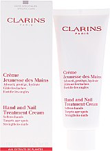 Düfte, Parfümerie und Kosmetik Hand- und Nagelcreme - Clarins Hand & Nail Treatment Cream