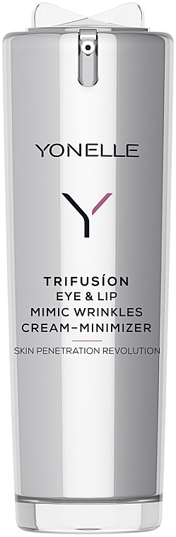 Augen- und Lippencreme gegen Mimikfalten - Yonelle Trifusion Eye & Lip Mimic Wrinkles Cream-Minimizer — Bild N1