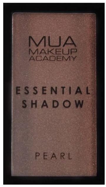 Lidschatten - MUA Essential Shadow Pearl — Bild Bark