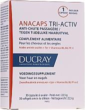 Düfte, Parfümerie und Kosmetik Nahrungsergänzungsmittel AnaCaps Tri-Activ für Kopfhaut, Haare und Nägel - Ducray AnaCaps Tri-Activ Capsule