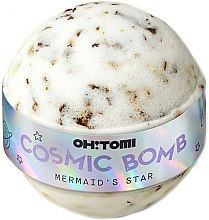 Düfte, Parfümerie und Kosmetik Badebombe Traubenkernöl & Sojaöl mit Damastrosenextrakt - Oh!Tomi Cosmic Bomb Mermaid's Star