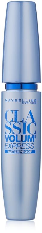 Wasserfeste Wimperntusche - Maybelline Volum Express Waterproof
