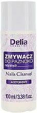 Düfte, Parfümerie und Kosmetik Nagellackentferner mit Olivenextrakt und Weizenkeimöl - Delia Acetone Nail Polish Remover for Natural Nails